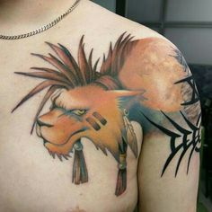Banality, or Red Xiii from final fantasy 7 tattoo