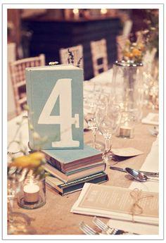 Books Rustic vintage farmhouse styling ideas | DIY Weddings