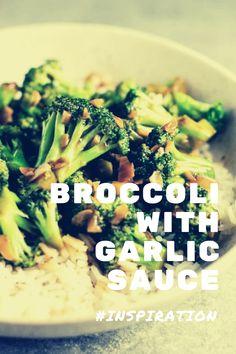 Broccoli With Garlic Sauce, Broccoli Rabe Recipe, Broccoli Puree, Romanesco Broccoli, Charred Broccoli, Broccoli Fritters, Broccoli Stems, Broccoli Recipes, Blanching Broccoli