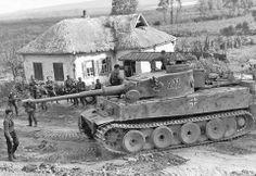PzKpfw VI tiger in Kursk