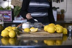 Preserved Lemons – Cornersmith Preserved Lemons, Fruit In Season, Preserving Food, Diy Food, Preserves, Spices, Lime, Recipes, Drink