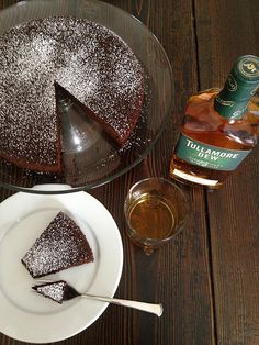 Hungry Mutineer: Chocolate Whiskey Afternoon Cake with Tullamore Dew