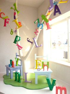alphabet tree object
