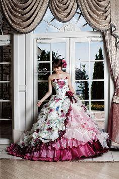 佐々木希コレクション | ウェディングドレス・カラードレス from エスプリ・ド・ナチュール