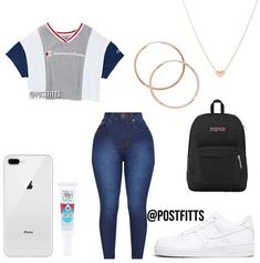 Find out other great ideas about Style clothing, Spoils attire and Girl design and style. Swag Outfits For Girls, Boujee Outfits, Teenage Girl Outfits, Cute Casual Outfits, Teen Fashion Outfits, Cute Outfits For School For Teens, Hipster Fashion, Everyday Outfits, Swagg