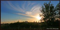 Toronto Skyline, as seen from Cherry Street Toronto Skyline, Cherry, Canada, Celestial, Sunset, Photography, Outdoor, Life, Outdoors