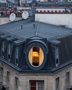 Architecture Design, Paris Architecture, French Architecture, Loft Interior, Little Paris, Paris Hotels, Hotel Paris, Paris Apartments, Through The Window