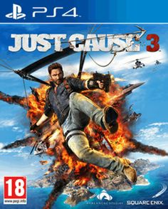 Just Cause 3 PlayStation 4 Cover Art