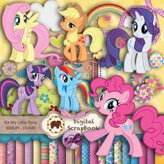 Kit Scrap Digital - My Little Pony