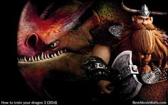 HTTYD 2 - Stoick the Vast and Skullcrusher