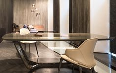 pininfarina home design collaborates with reflex for modular segno collection