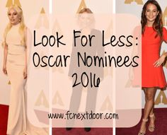 Look For Less: Oscar