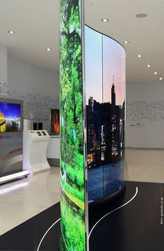 Technology LGs double-sided TV offers a twin peek into the future of OLED displays Futuristic Displays: http:tagdisplay Futuristic Technology, Cool Technology, Technology Gadgets, Future Of Technology, Technology Design, Medical Technology, Wearable Technology, Energy Technology, High Tech Gadgets