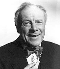 Edmund Gwenn, perhaps best known as Kris Kringle in Miracle on 34th Street.   Fine character actor in many classic films.