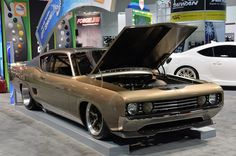 1969 #Ford #Talladega GPT Special is a #SEMAShow2013 showstopper. http://aol.it/1iQg7qq