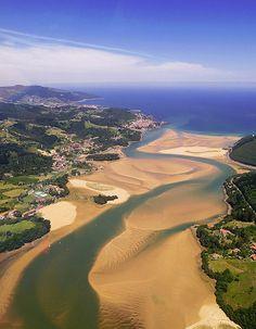 Urdaibai reserva de la biosfera  Pais Vasco