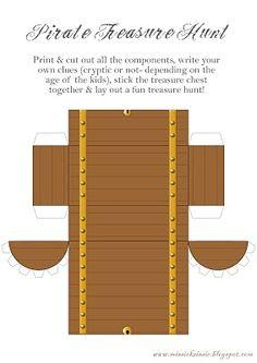 Pirate Printables for treasure hunt