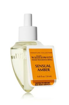 Sensual Amber Wallflowers® - Somehow this comes out smelling sweet and indulgent but not overwhelming. I LOVE it