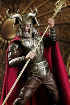Horned God Odin - the deity with one All Seeing Eye (played by Anthony Hopkins in Thor