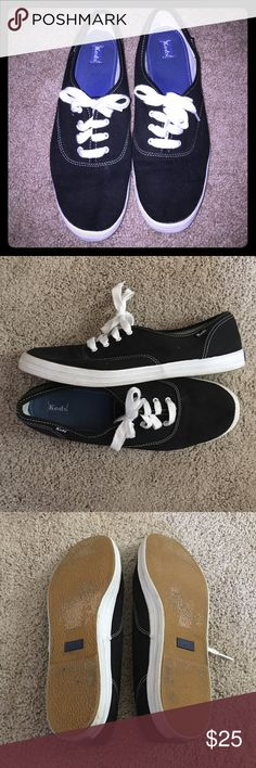 Less Champion Originals-Black Size 11 Keds Champions. Worn maybe twice but look brand new. Marks on the bottom of the sole are from where the sticker used to be. keds Shoes Sneakers
