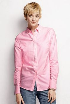Women's Oxford Shirt from Lands' End