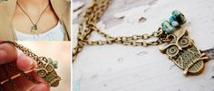 GroopDealz |  Daily Deals | Daily Boutique Deals - owl necklace