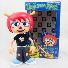 UmJammer Lammy On Stage Collectible Doll Figure Medicom Toy Parappa The Rapper