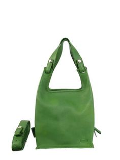 Lumi Supermarket Bag Classic in Grass Green Summer Bags, Go Green, Modern Classic, Gym Bag, Grass, Red, Style, Products, Swag