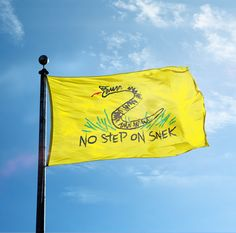 No Step On Snek - Flag