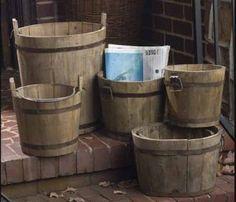893 - Idee per #arredamento da #botti in legno usate.