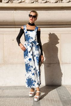 Street style from the spring 2015 collections at Paris Fashion Week. via @stylelist