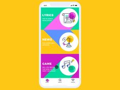 A fresh set of motion design concepts: check diverse approaches to user-friendly UI animation improving navigation and interactions in mobile applications. Ui Animation, Web Design, Design Trends, Graphic Design, App Home Screen, Progressive Web Apps, Mobile Ui Design, Music App, Application Design