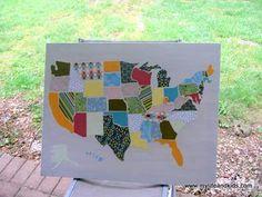 scrapbook map