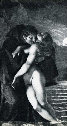 Prud'hon - Frontispice de Phrosine et Mélidore 1797 Les albums de Céline E.: Le Bal des Vampires