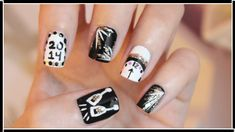 did my nails  new years nail designs new years eve nails