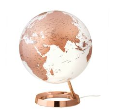 globe terrestre h 29 cm copper glace maisons du monde globes pinterest globe map globe. Black Bedroom Furniture Sets. Home Design Ideas