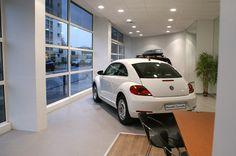Nouvelle coccinelle blanche Volkswagen VCA