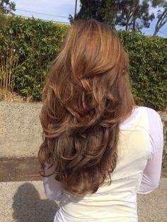 Light Reddish Brown Hair Color