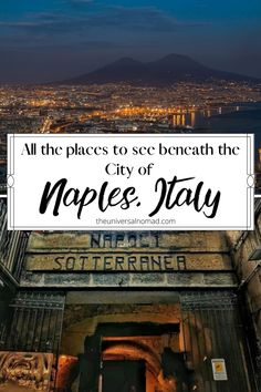 For a city so full of life and chaos, Naples has a close bond and appreciation of death and the afterlife. For those who like to visit the more unusual places, then this list is for you. #naples #naplesitaly #museums #travelguides Weekend Vacations, Vacation Ideas, The Catacombs, Way To Heaven, Great Buildings And Structures, Italy Travel Tips, Naples Italy, Travel Reviews, Travel Humor