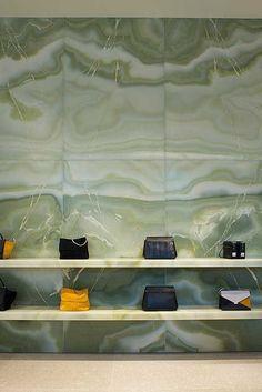 Image result for celine store interior stone