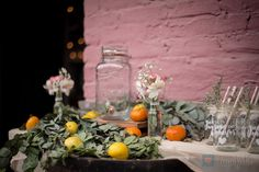 Mesa de limonadas - lemonade table