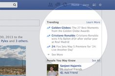 Comme Twitter, Facebook va lancer les « Trending Topics »