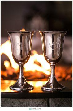 engraved wine goblets
