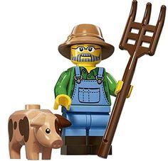 LEGO Series 15 Collectible Minifigure 71011 - Farmer by LEGO: Amazon.es: Juguetes y juegos