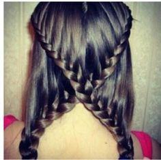 Cross Braid #hairstyles, #haircuts, #hair, #pinsland, https://apps.facebook.com/yangutu