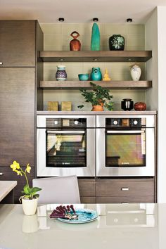 Dream Kitchen Design Ideas: Double the Cooking Space
