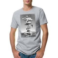 Hanes Men's Lightweight Graphic Tee - Outdoor Collection, Size: XL