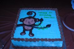 #Monkey Boy Cake Inspiration