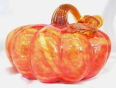 All of our glass pumpkins are on sale!  Hand Blown, they can add interest to your indoor OR outdoor decor all year long!