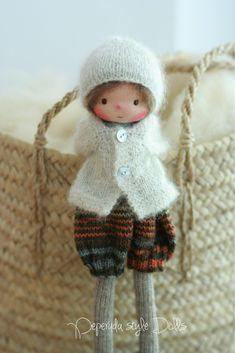 Your place to buy and sell all things handmade Mohair Yarn, Wool Yarn, Knitted Dolls, Crochet Dolls, Little Pet Shop, Fabric Dolls, Rag Dolls, Needle Felted Animals, Waldorf Dolls